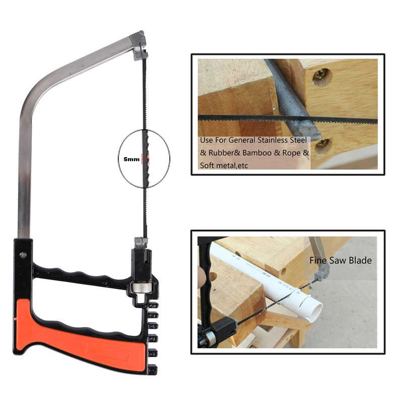 12 In 1 Multifunctional Hand Saw Set Woodworking Universal Handsaw Mini Magic Saw For Wood Plastic Sawing Glass Ceramic Tile