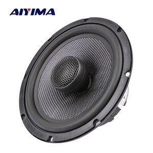 AIYIMA автомобильный коаксиальный динамик 6,5 дюйма, 25 ядер, шелковая пленка, тройные басы, 4 8 Ом, 60 Вт, музыкальный динамик из стекловолокна, гром...