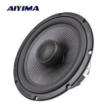 AIYIMA 6.5 Inch Coaxial Car Speaker 25 Core Silk Film Treble Bass 4 8 Ohm 60 W Glass Fiber Audio Music Woofer Loudspeaker