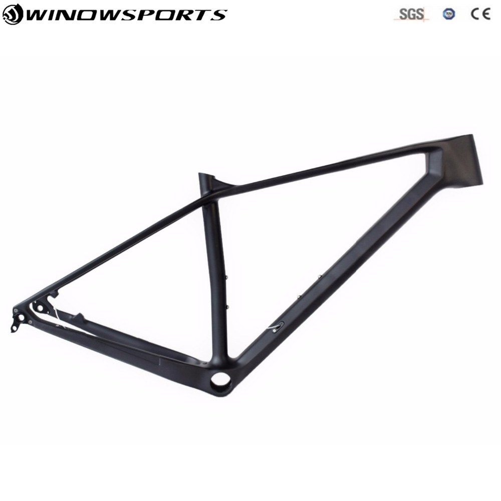 2018 Nwe Model 29er Racing Carbon Mtb Bicycle Frame T800 Carbon Mtb Frame Bike Carbon Frame UD Matt Accept Customized Painting