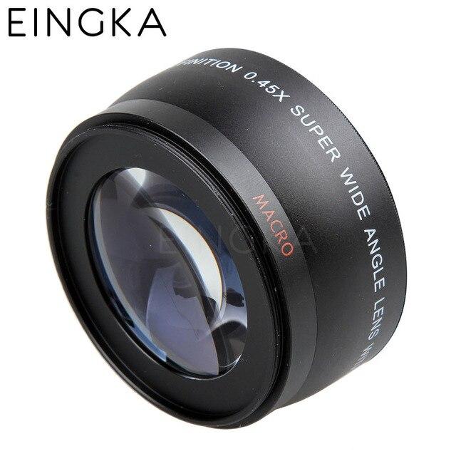 0.45X Wide Angle Camera Macro Lens Filter 52mm for Nikon AF-S 18-55mm D3000 D3100 D3200 D3300 D5000 D5100 D5200 D5300 D5500