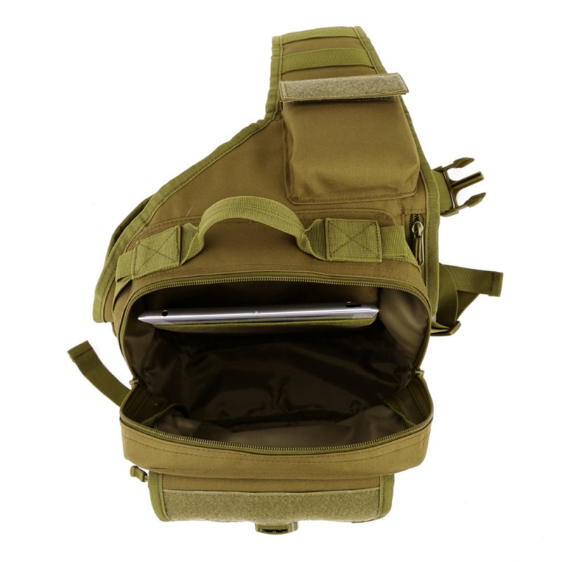 Camping & Hiking Unisex Military Tactical Chest Pack Nylon Cross Body Sling Single Shoulder Bag Fishing Camping Equipment Selling Well All Over The World Sports & Entertainment