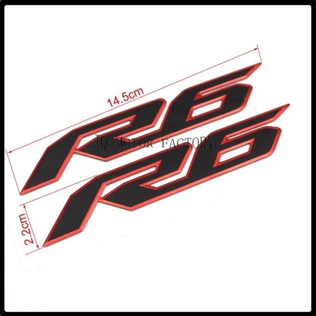 Fur YAMAHA R6 Motorrad Emblem Abzeichen Aufkleber 3D Tank Rad Logo