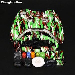 Image 3 - Chenghaorano capa de substituição para controle de fio, conjunto completo com botões, acessórios, para xbox 360 xbox360
