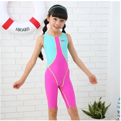 Professional One Piece Comfortable Quick-Dry SwimSuit Beach Wear Kids Sport Breathing Racing BathingSuit Body SwimSuit