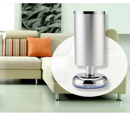 5.9 inch 150mm Space Aluminum Furniture Tea Table Shoe Cabinet Legs Feets Sofa Caster