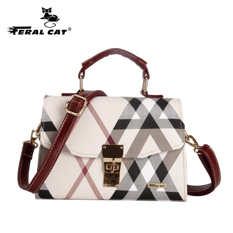 Luxury Women Business Handbag & Crossbody Bag With Red Striped Shape PVC Leather Fashion Flap Bags Young Lady Totes F431 women flap clutch bags 2017 all match women s handbag doctor bag fashion vintage solid handbag totes green st9340