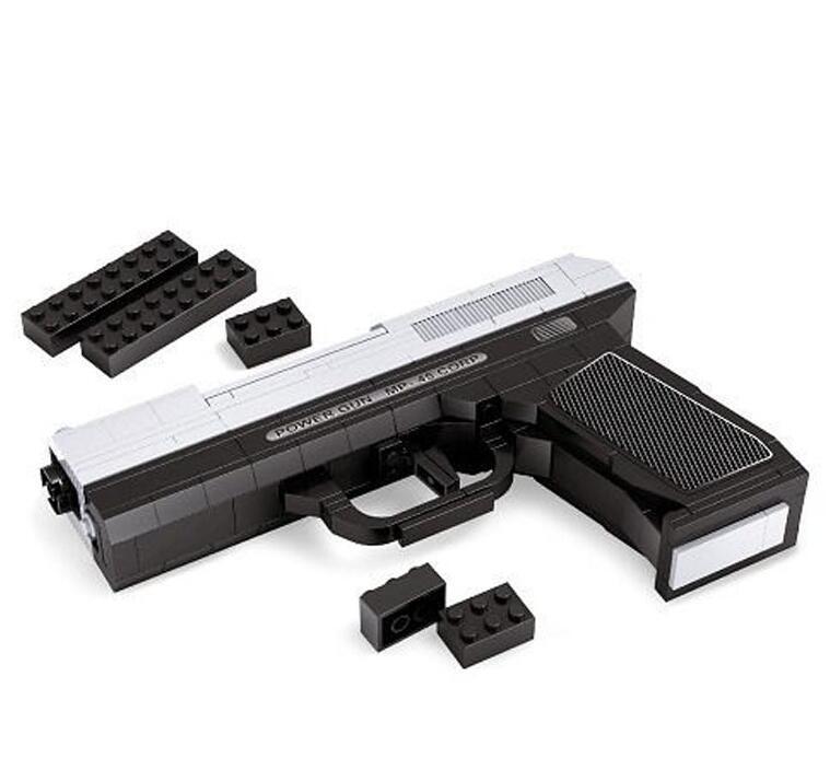 22510 268pcs Arms Power Gun MP-45 Constructor Model Kit Blocks Compatible LEGO Bricks Toys For Boys Girls Children Modeling