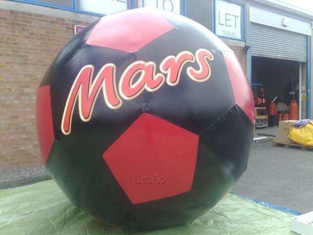 Z159 Free shipping custom commercial inflatable Mars balls replica Advertising inflatable sky ballons helium balloons for