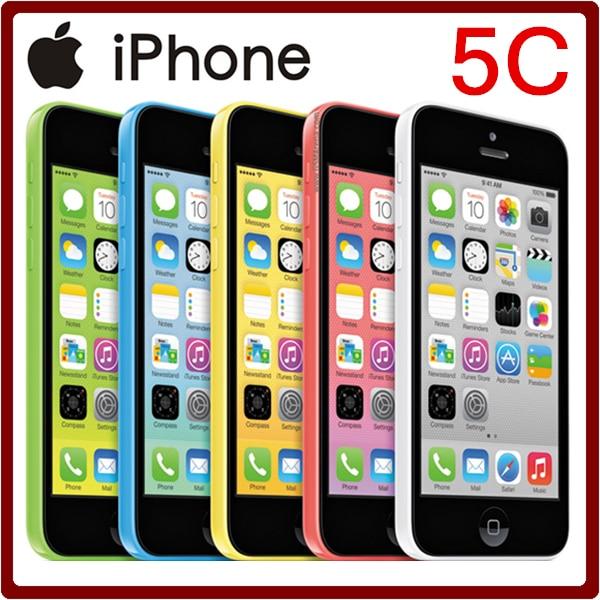 Цена за Apple 100% Оригинальный Разблокирована iPhone 5C 8MP 8/16/32 ГБ ROM 1 ГБ ОПЕРАТИВНОЙ ПАМЯТИ IOS 7 GPS WI FI 8MP 4.0 ''1510 мАч Смартфон Бесплатная Доставка