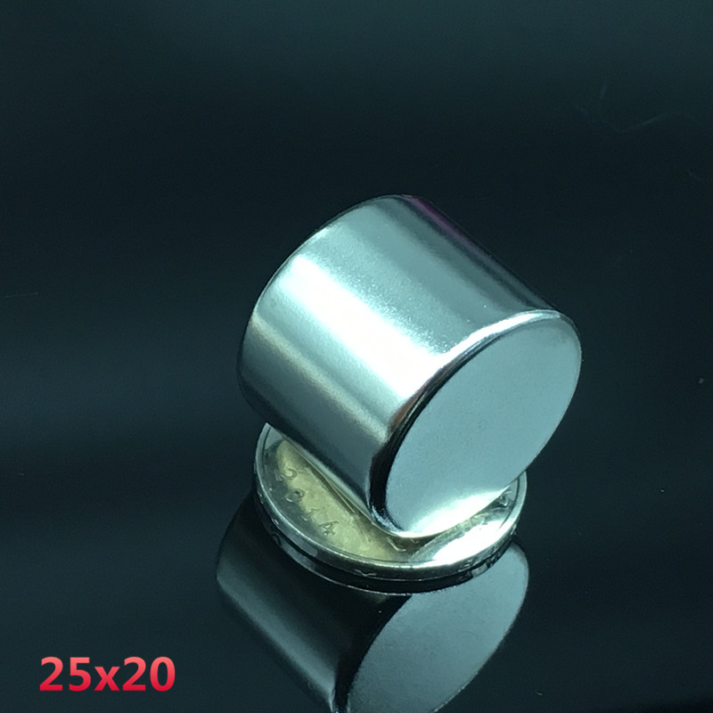10pcs 25x20 mm neodymium magnet 25mm 20mm strong rare earth neodymium magnets 25 20 mm NdFeB