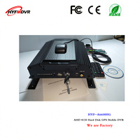 GPS mdvr AHD720P coaxial surveillance video recorder 8CH hard disk equipment taxi special mobile DVR