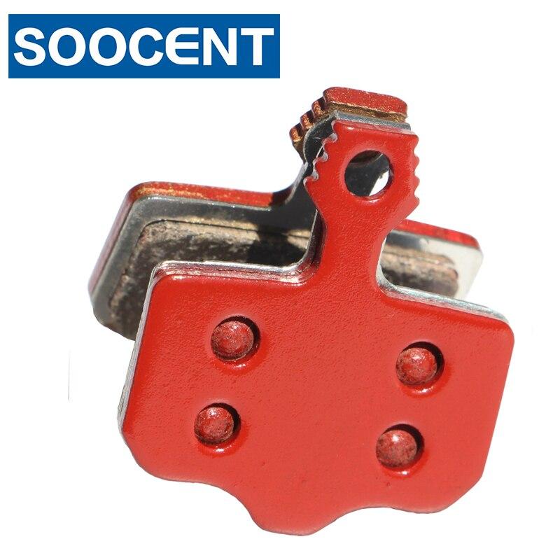 4 Pairs Rot Gesinterte Fahrrad Bremsbeläge für SRAM AVID Elixir 1 3 5 7 9 R CR für SRAM XX X0 Avid DB1 DB3 MTB Mountainbike Disc