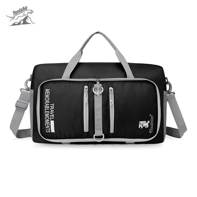 2dcce0e714 Tanluhu 25L Outdoor Brand Bag Large Capacity Foldable Duffle Travelling Bag  for Men   Women Gym