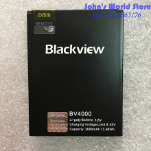 100% New Original Blackview BV4000 3680mAh Li-ion Backup Battery Replacement Accessory Accumulators For