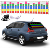 114 30cm 5 Colour Music Rhythm EQ Car Sticker Music Equalizer On Car Windshield LED Sound