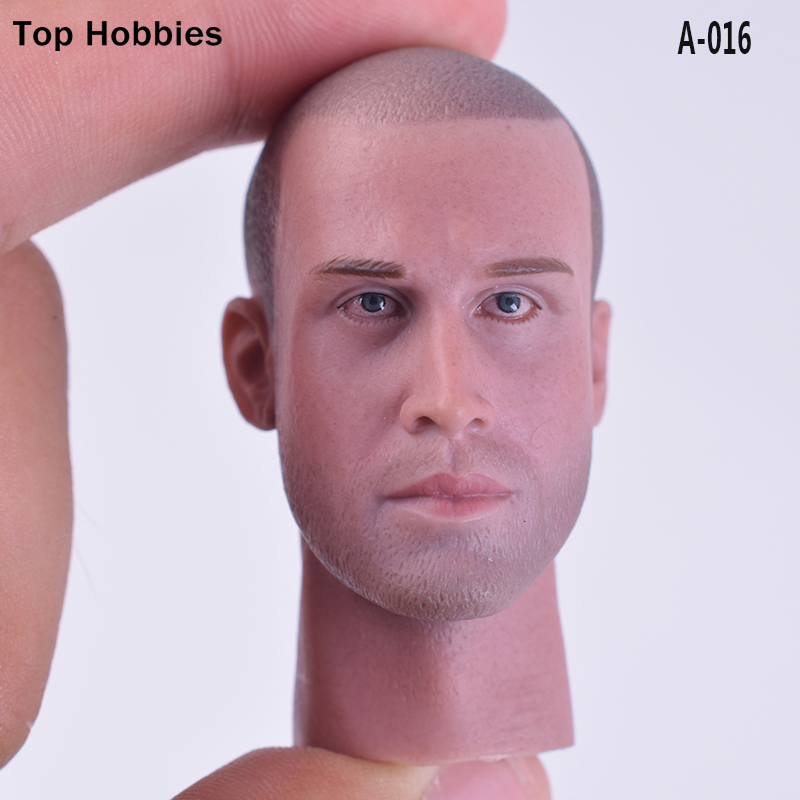 Lowest Price 1/6 head sculpt A-16 Male/Man head Joseph Sains for 12 Inch Phicen V-016 action figure HT toys Doll Body in stock ht hottoys superman1 6 man of steel jor el model 12inch action figure doll the finished product