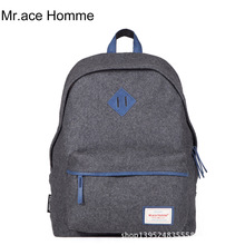 New Brand Fashion Woolen Leisure Travel Backpack Student School Bags Multipurpose Rucksack