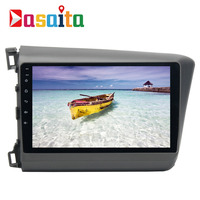 Dasaita 9 Android 7 1 Car GPS Player Navi For Honda Civic 2012 2014 With 2G