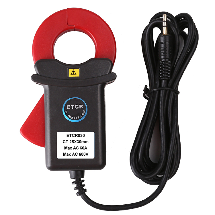 ETCR030 High accuracy clamp leakage current sensor etcr030 high accuracy clamp leakage current sensor
