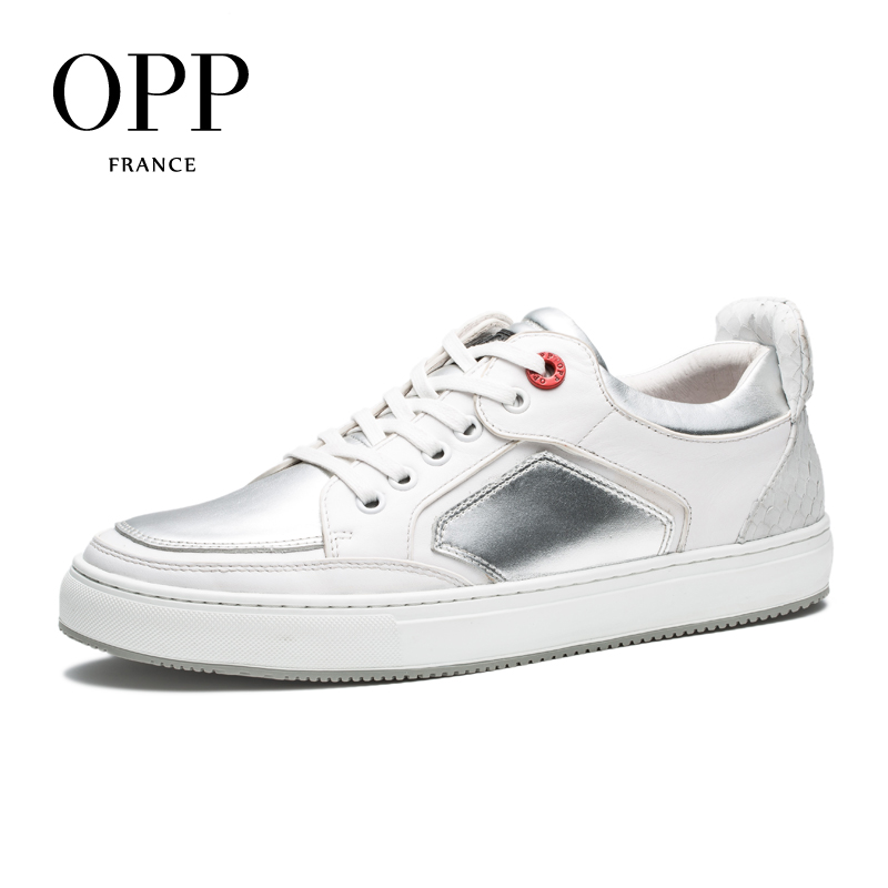 OPP 2018 Spring Autumn Men Shoes Genuine Leather Casual Shoes for Men Fashion For Male Loafers Footwear Lace up Flats Shoes spring autumn fashion men high top shoes genuine leather breathable casual shoes male loafers youth sneakers flats 3a