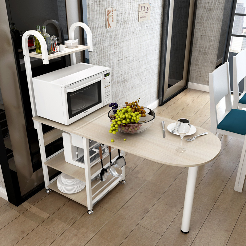 Creative Microwave Rack Multi Function Oven Storage Dining Table Kitchen Daily Locker Dinnerware Organizer Furniture In Tables From