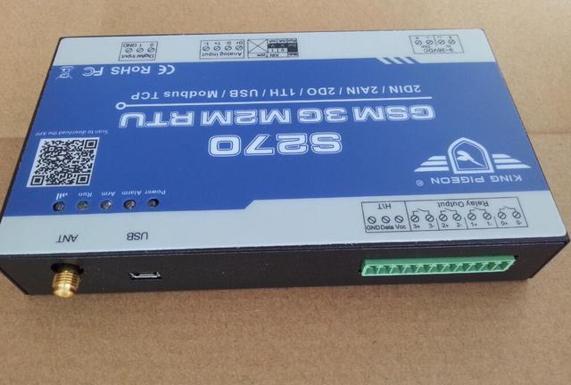 S270 com Módulo GSM GPRS 3G M2M RTU M2M e placa Lógica IO Módulo M2M 3G WCDMA 2G