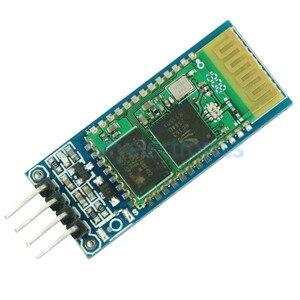 1 шт. HC06 HC-06 беспроводной Серийный 4-контактный радиочастотный приемопередатчик RS232 TTL модуль Bluetooth Подключаемый модуль для arduino