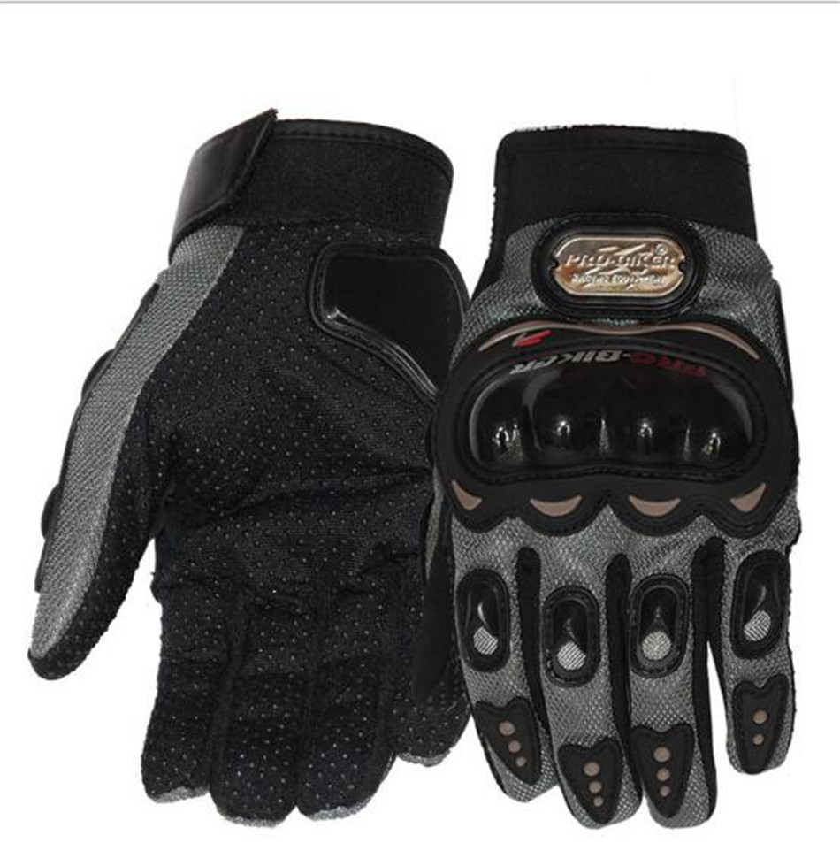 Motorcycle Gloves Touch Screen Breathable Wearable Protective Gloves ...