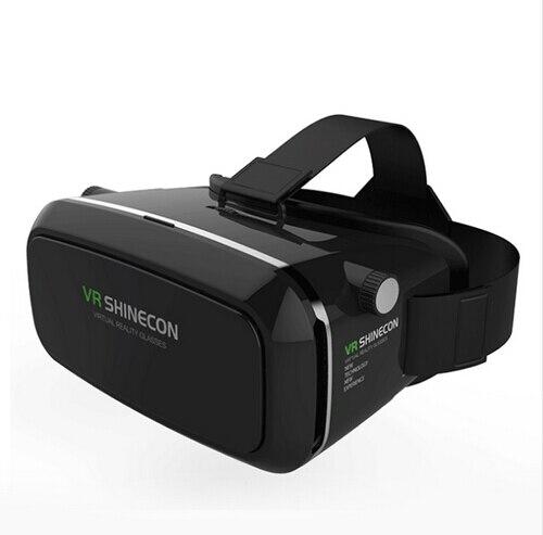 Shinecon виртуальной реальности 3D Очки гарнитура крепления головы кино игры 3.5-6.0 дюймов телефона Google cardboard