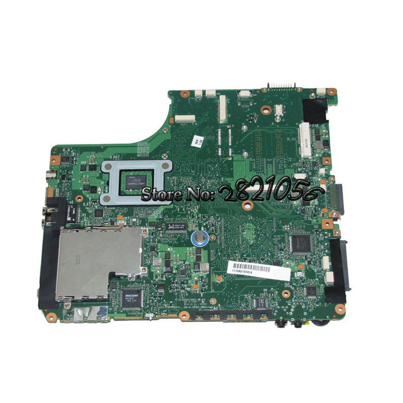 NOKOTION Laptop Motherboard SPS V000125430 For toshiba satellite A300 A305 GM965 DDR2 Free CPU la 5971p for lenovo g455 laptop motherboard hd 4250m ddr2 free cpu