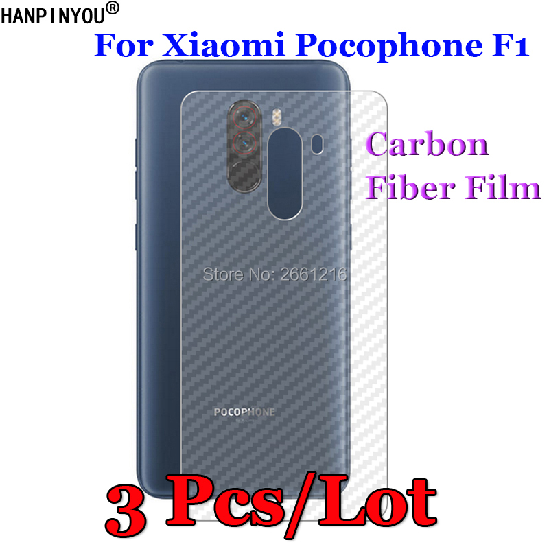 3 Pcs/Lot For Xiaomi <font><b>Pocophone</b></font> <font><b>F1</b></font> / Poco <font><b>F1</b></font> 6.18