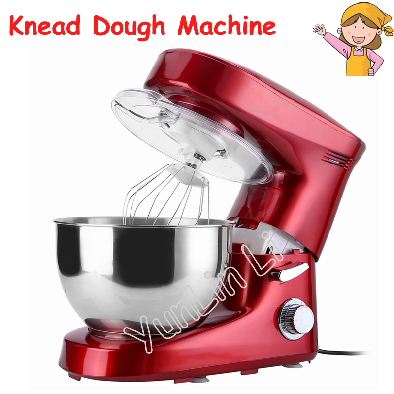 6L Commercial Noodle Maker Milk Foamer Knead Dough Machine Egg Beater Household Chef Machine KM-8