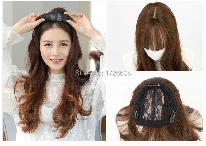 silk base women wig female hair
