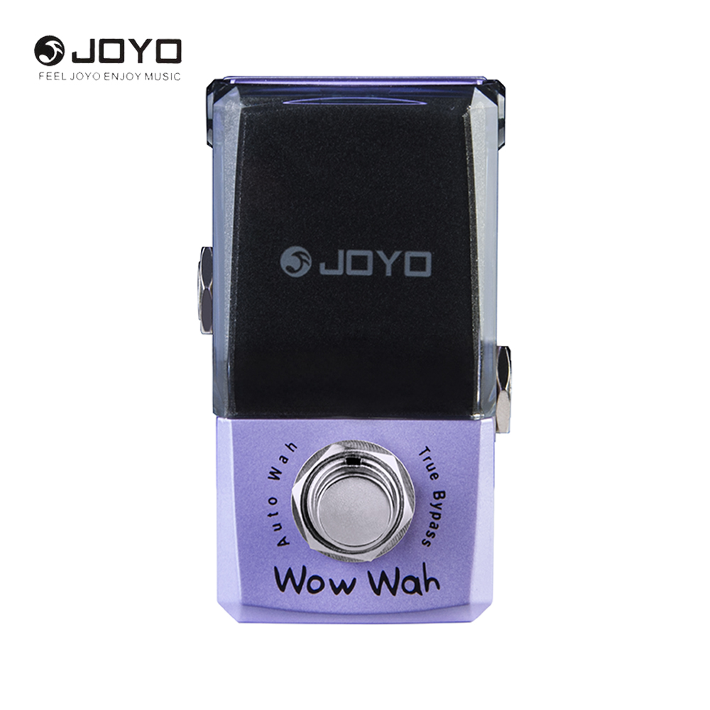 JOYO IRONMAN JF-322 Wow Wah Auto Wah Mini Electric Guitar Effect Pedal Box Guitar Parts with Knob Guard True Bypass mooer funky monkey auto wah guitar effect pedal true bypass electric mini effects with free connector and footswitch topper