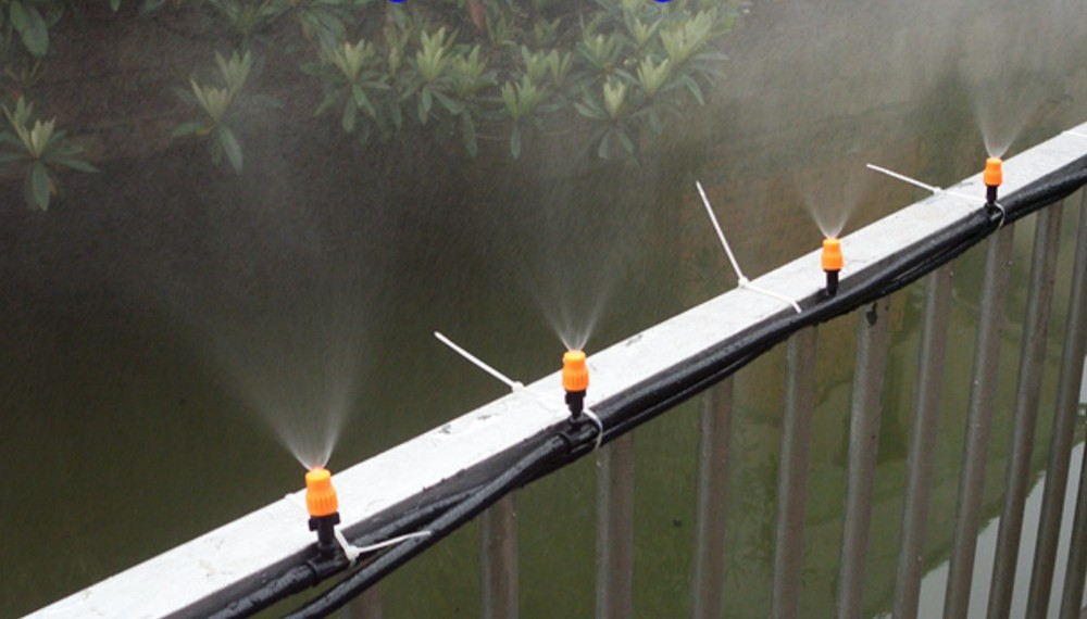 Patio Misting Systems Lowe S : Garden hose misters fasci