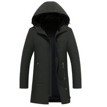 2017 Brand New Winter Jacket Men Windbreaker Thick Fleece Hood Parka Coat Men Parka Warm Winter Jacket Big Size M-4XL Down warm