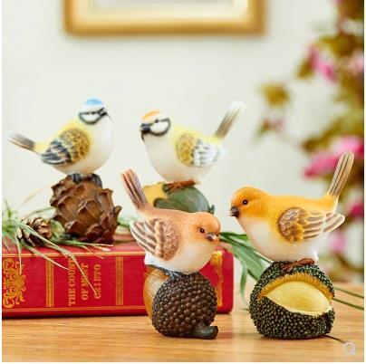 Bird crafts, home decorations, desktop accessories, creative wedding decoration small gifts 5