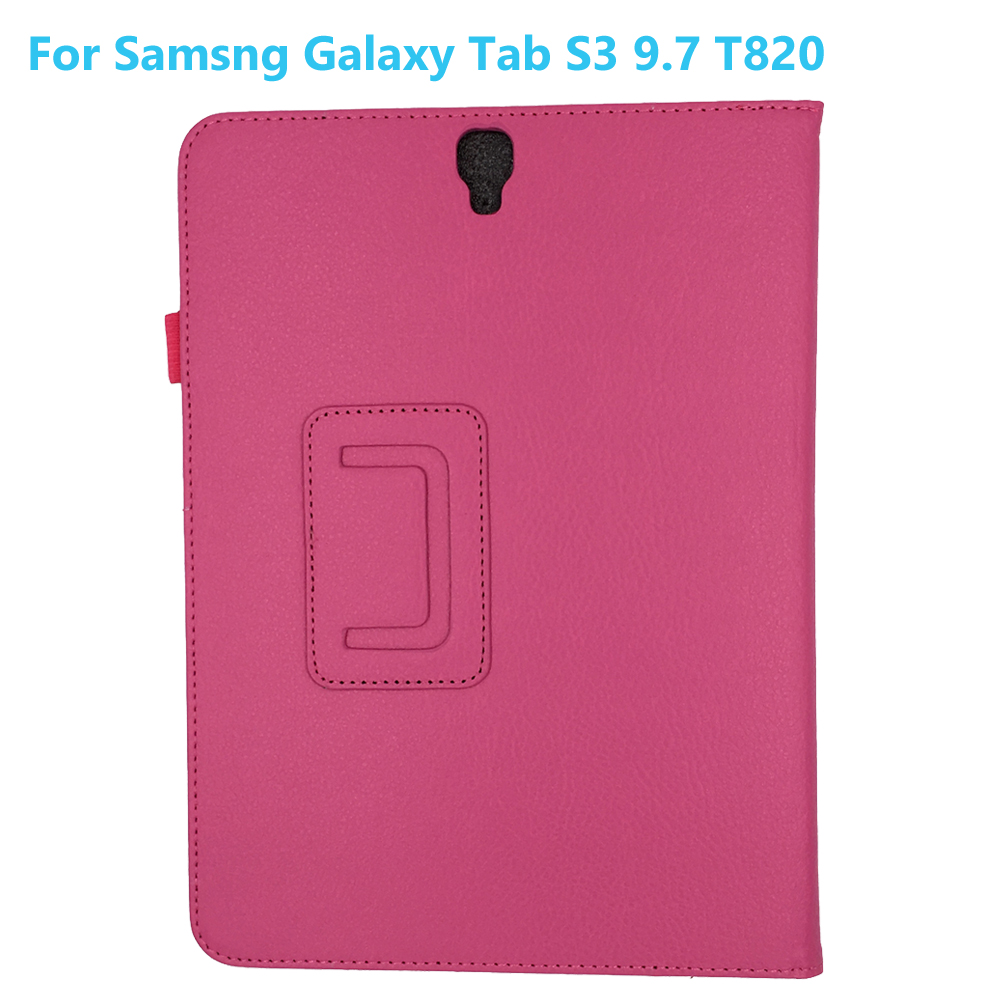 Viviration New Smart Fold Skin Cover Case For Samsung Galaxy Tab S3 T820 T825 Wholesale 2018 Promotion Magnetic Hard Protector