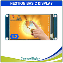 "3.2 ""NX4024T032 Nextion الأساسية HMI الذكية USART UART المسلسل مقاوم اللمس TFT وحدة عرض LCD لوحة لاردوينو التوت بي"