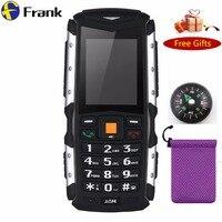 3G WCDMA M1 IP67 Su Geçirmez darbeye dayanıklı Darbeye duatproof 2.0MP Çift SIm GSM cep Telefonu 2570 Mah