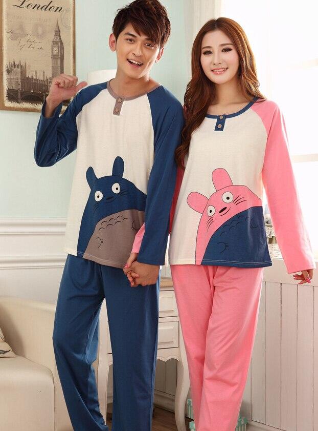Aliexpress.com : Buy 1set/lot free shipping Pajamas Sets Couples ...