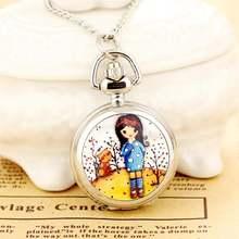 Новые модные мужские и женские карманные часы в античном стиле