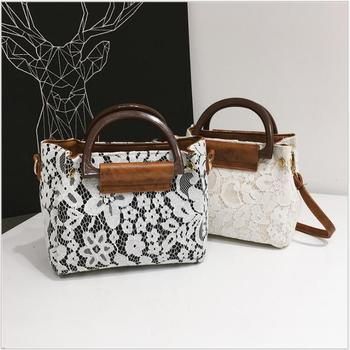 2018 Fashion Summer Bag Women Handbag Female High Quality PU Leather Messenger Bags For Teenagers Girls Lace Bag Simple Flap bag