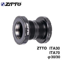 ZTTO ITA30 ITA 70 MTB Road Bike External Bearing Bottom Brackets BB For Rotor Raceface SLK BB386 30mm Crankset