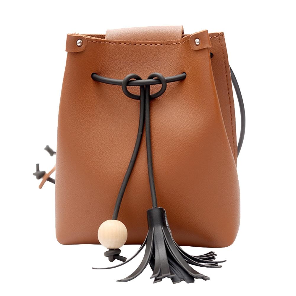 Women PU Leather Mini Phone Bag Female Simple Tassel Shoulder Crossbody Bag Girls Gray Shopping Beach Handbag Bolsas Feminina все цены