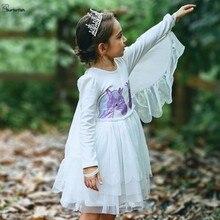 9394125aeddc1 Buy unicorn dress long sleeve girls and get free shipping on ...
