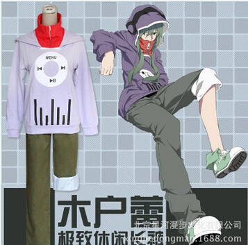 Cosonsen Kagerou Project Tsubomi Kido top + pantalon Costume Cosplay