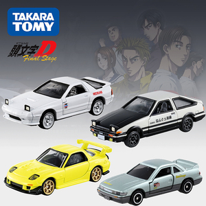 Geniune Takara Tomy Dream Tomica Initial D FC3S RX-7 GT-R R32 FD36 AE86 S13 Metal Diecast Vehicles(China)