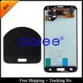 Бесплатная доставка 100% Оригинал Для Samsung Galaxy S5 SM-G900 SM-G900F G900 ЖК Ассамблея Сенсорный Экран Стикер-Белый/Черный
